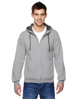 Fruit of the Loom SF73R Adult SofSpun Full-Zip Hooded Sweatshirt