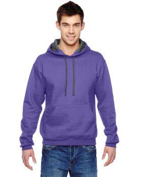 Fruit of the Loom SF76R Adult SofSpun Hooded Sweatshirt