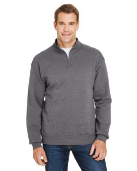 Fruit of the Loom SF95R Adult Sofspun Quarter-Zip Sweatshirt