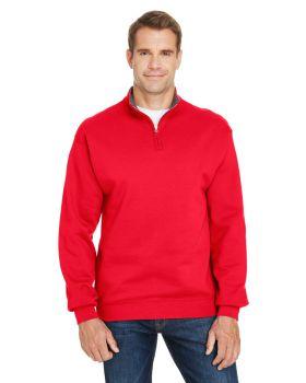 Fruit of the Loom SF95R Adult Sofspun Quarter-Zip Sweatshirt