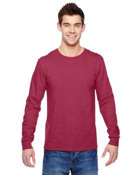 'Fruit Of The Loom SFLR Men's Sofspun Cotton Jersey Long Sleeve T-Shirt'