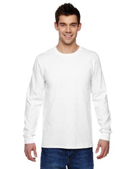 Fruit of the Loom SFLR Adult Sofspun Jersey Long Sleeve T-Shirt