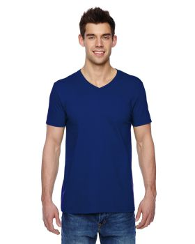 Fruit of the Loom SFVR Adult Sofspun Jersey V-Neck T-Shirt