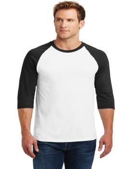 Gildan 5700 Heavy Cotton Three-Quarter Raglan Sleeve Baseball T-Shirt
