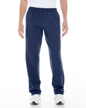 Gildan G183 Adult Heavy Blend Adult Open Bottom with Pockets Sweatpants