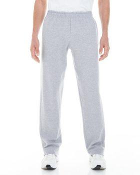 Gildan G183 Adult Heavy Blend Adult Open Bottom with Pockets Sweatpants
