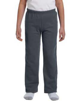 Gildan G184B Youth Heavy Blend 50/50 Open-Bottom Sweatpants