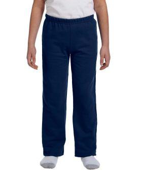 'Gildan G184B Youth Heavy Blend 50/50 Open-Bottom Sweatpants'