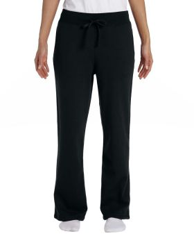 Gildan G184FL Ladies' Heavy Blend Ladies' 50/50 Open-Bottom Sweatpants