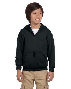 Gildan G186B Youth Heavy Blend 50/50 Full-Zip Hood