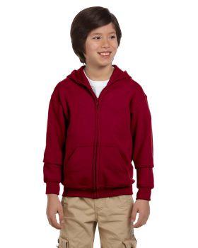 Gildan G186B Youth Heavy Blend 50/50 Full-Zip Hood