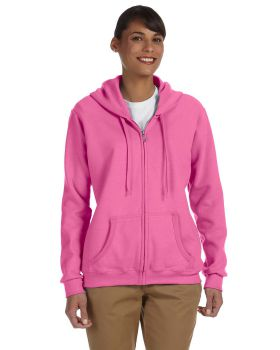 Gildan G186FL Ladies' Heavy Blend Ladies' 50/50 Full-Zip Hood
