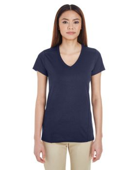 Gildan G47V Ladies' Performance Ladies' V-Neck Tech T-Shirt