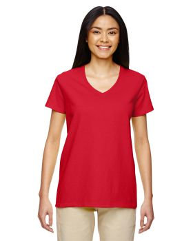 Gildan G500VL Heavy Ladies V Neck T-Shirt