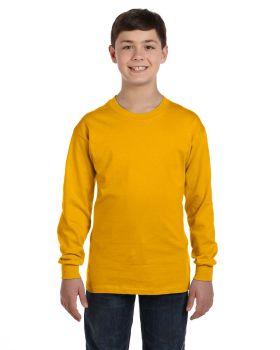 Gildan G540B Youth Ribbed cuffs 5.3 oz Long Sleeve T-Shirt
