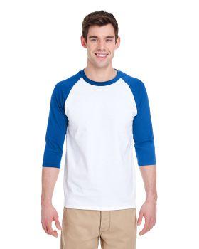 Gildan G570 Adult 3/4-Raglan Sleeve T-Shirt