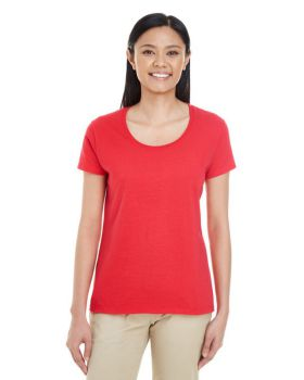 Gildan G6455L Ladies' Softstyle Deep Scoop T-Shirt