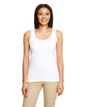 Gildan G645RL Ladies Softstyle Racerback Tank Top