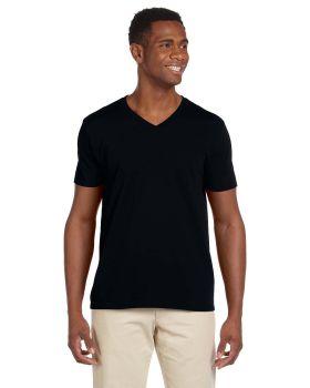 Gildan G64V Adult Softstyle V Neck T-Shirt