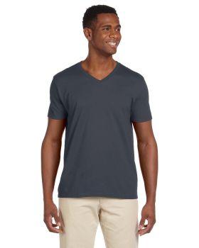 'Gildan G64V Adult Softstyle V Neck T-Shirt'