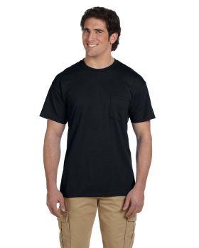 Gildan G830 Adult Pocket Cotton Polyester T-Shirt