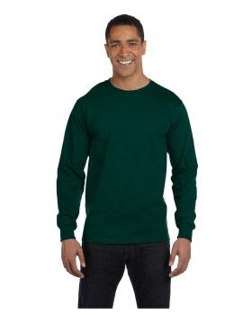 Gildan G840 Adult Long Sleeve Cotton Polyester T-Shirt