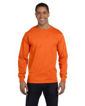 'Gildan G840 Adult Long Sleeve Cotton Polyester T-Shirt'