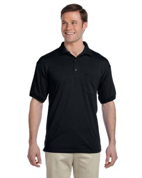Gildan G890 Adult 50/50 Jersey Polo with Pocket
