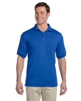 Gildan G890 Adult Jersey with Pocket Polo-Shirts
