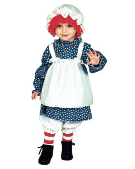 Halloween Costumes 12117 Raggedy Ann Toddler 1 To 2