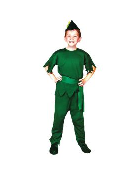 Halloween Costumes AF85LG Elf Child Large