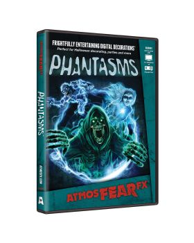 Halloween Costumes ATX0012 Atmosfearfx Phantasms Deco Dvd