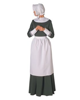 Halloween Costumes BB334 Pilgrim Set Lady