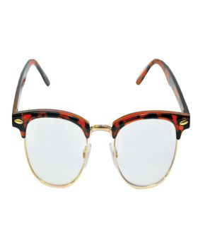 Halloween Costumes BB502 Glasses Mr 50'S Clear