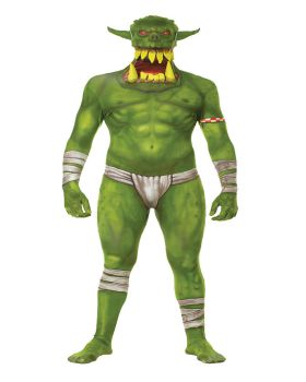 Halloween Costumes MH03762 Morph Jaw Dropper Green Adt Lg