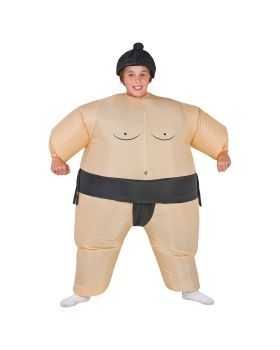 Halloween Costumes SS22006G Sumo Kids Costume Inflatable