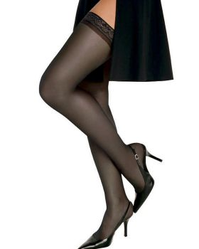 Hanes 00720 Women's Silk Reflections Silky Sheer Thigh High