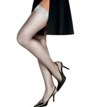 Hanes 00720 Women's Silk Reflections Silky Sheer Thigh High
