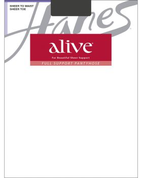 Hanes 00811 Women's Alive Sheer To Waist Pantyhose