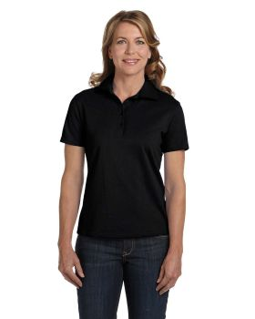 Hanes 035 Women Comfortsoft Cotton Piqué Polo