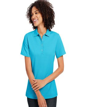 Hanes 035P Ladies X Temp Pique Short Sleeve with Fresh IQ Polo-Shirt