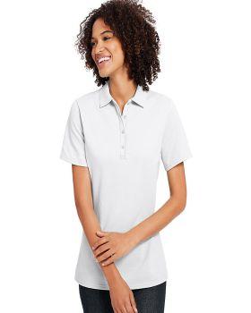 Hanes 035P Ladies X Temp Pique Short Sleeve with Fresh IQ Polo-Shirt