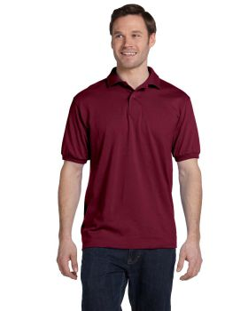 Hanes 054 Men's Comfortblend Ecosmart Jersey Knit Polo Shirt