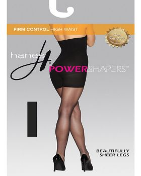 Hanes 0B988 Women's Firm Control High Waist Power Shapers