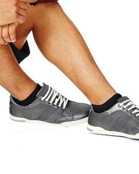 Hanes 190/6 Men's Cushion No-Show Socks 6-Pack