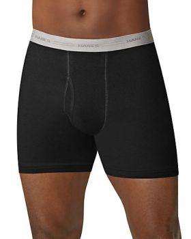 Hanes 2349Z5 Men's Boxer Briefs with Comfort Flex Waistband 5-Pack