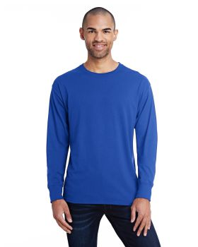 Hanes 42L0 Men's X Temp Long Sleeve Ring Spun Cotton polyester T-Shirt