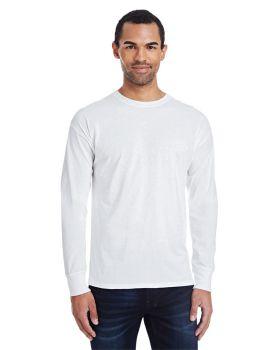 Hanes 42L0 Men's X Temp Long Sleeve Ring Spun Cotton polyester T-Shirt