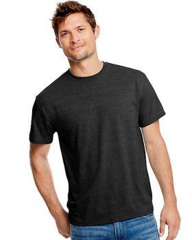 Hanes 42TB Adult X Temp Triblend Polyester Cotton T-Shirt