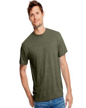 Hanes 42TB Adult X Temp Triblend Polyester Cotton T-Shirt